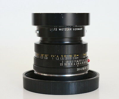 Leitz ELMARIT-R 35mm f/2.8 Wetzlar Leica Lens Made In Germany