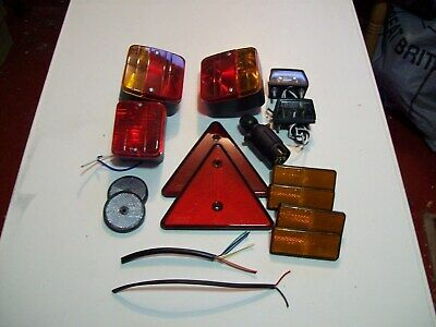 Trailer lighting kit with cable see description FREE P^P