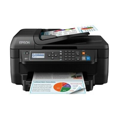 Stampante Multifunzione Inkjet Compatta Epson Workforce Wf-2750Dwf Wireless