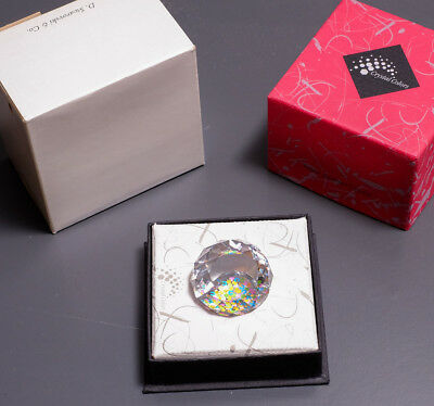 Swarovski Paperweight Crystal William and Cate Wedding