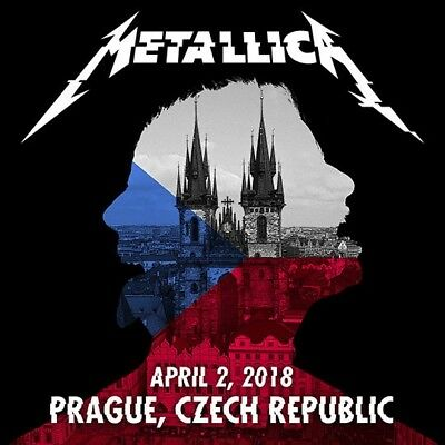 METALLICA / WorldWired Tour / O2 Arena, Prague, Czech Republic / April 02, 2018
