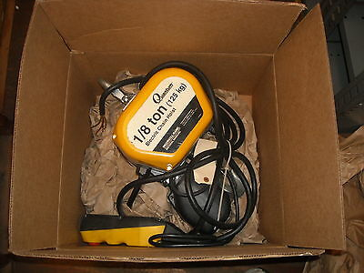 Q50-1NS12E10-6-1C I/R Electric Hoist 1/8 Ton Capacity, Completely Reconditioned