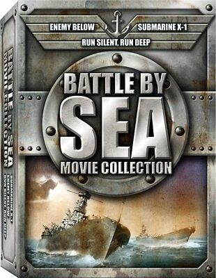 BATTLE BY SEA Collection, Coffret 3 DVD neuf sous blister