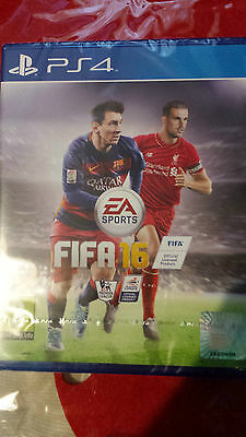Ps4 Fifa 16 Game, Brand New And Sealed