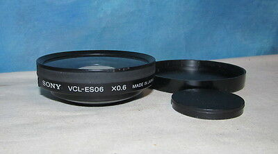Sony VCL-ES06 x0.6 One Touch Wide Conversion Lens J1270