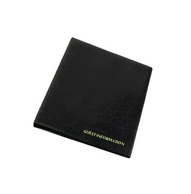 30 X GUEST INFORMATION GUIDE folder A4 room info B&B visitor holder HOTEL