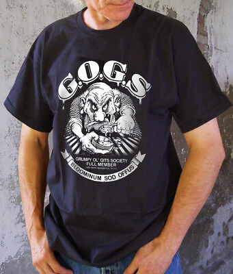 The original & best Grumpy Old Gits Society t-shirt, join the exclusive club!