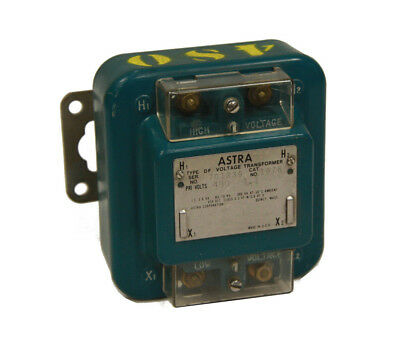 Astra 1076 Type DF Voltage Transformer 480V Primary