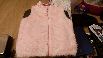 Girls Fur Gillet Age 9-10