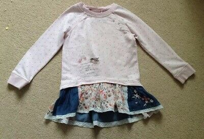 Girls' Clothing (2-16 Years) Girls Next Floral Jumper Skirt Dress Clothes, Shoes & Accessories Age 3-4 Years