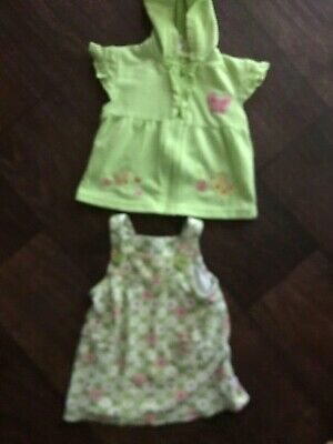 b1664609a1 Baby Girls Jumper Dress with coverup Size 3-6 Months Carters ~ Mon Petite