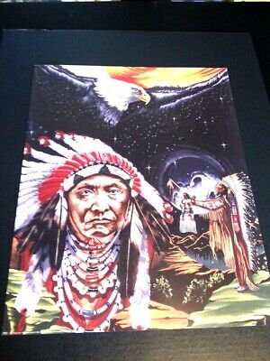 """Chief Joseph Saying Large 16 X 20/"""" Picture Prints New In Lithograph Dealer"""