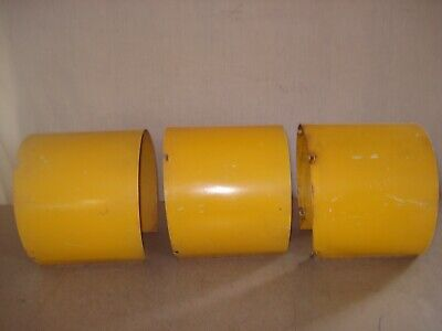 "Set-3 Vintage Sun Shades Visor Hoods For Traffic Signal Light  Aluminum 8""  VS-9"