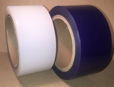 Low Tack Protection Tape 50mm x 100m Blue or Clear