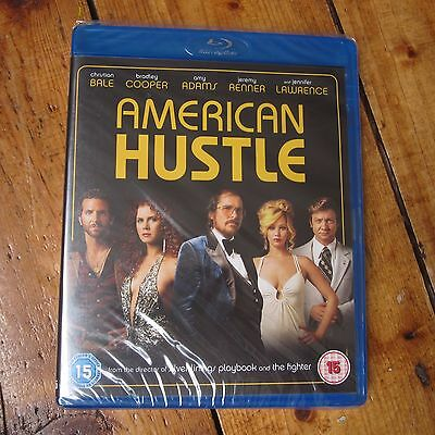 American Hustle Blu Ray Bluray NEW SEALED Free UK P+P Christian Bale etc