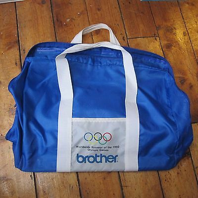 Brother Electric Typewriter Olympic Games 1992 Barcelona Promotional Carry Case