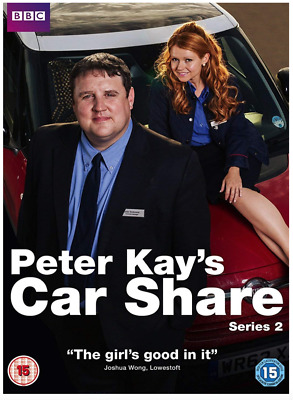 Peter Kay's Car Share Series 2 DVD Brand New and Sealed