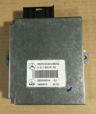 Mercedes W211 E-Class Hands Free Control Unit A2118206185