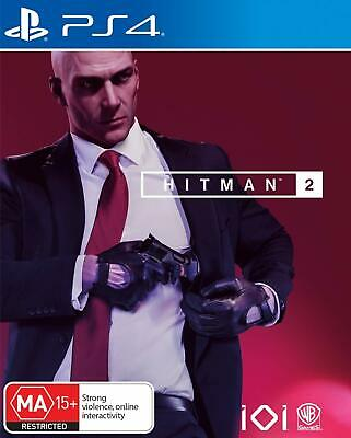 Hitman 2 PS4 Shooting Game Shooter Playstation 4 BRAND NEW FAST FREE POSTAGE