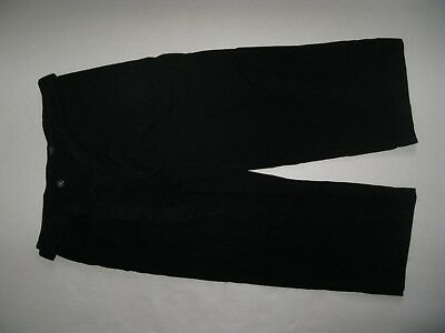 Next Cropped Wide Leg Trousers Bnwt Size 12 Rrp 36£ Black Casual