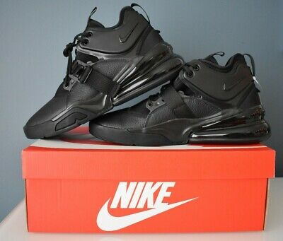 Details about Nike Air Force Max Men's Basketball Shoes BlackBlackAnthracite AR0974003 11.5