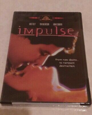 Impulse (DVD, 2003) Rare OOP Meg Tilly Tim Matheson Region 1 USA Brand New!