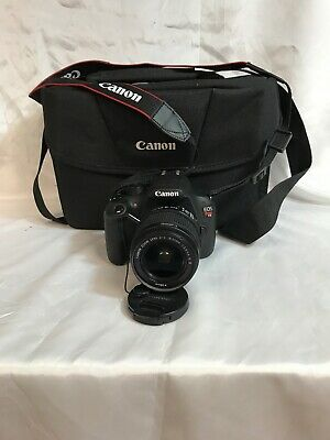 MINT CANON EOS Rebel T5i / 700D 18 0 MP SLR With EF 18-55mm IS II (2