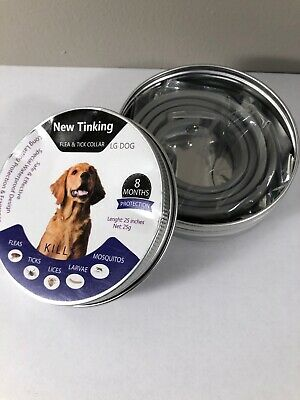 Flea And Tick Collar for Dogs Cats - 8 Months Protection - Large Dog
