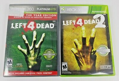 LEFT 4 DEAD 1 & 2 - Lot Of 2 Official Strategy Game Guides