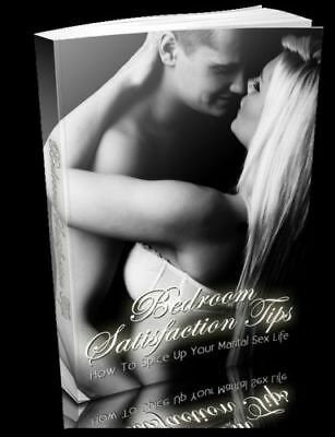 Ebook Bedroom Satisfaction Tips PDF + Master Resell Rights +10 Free Ebooks