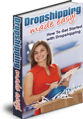 Drop shipping Made Easy - PDF eBook with Master Resell Rights + 10 Free Ebooks