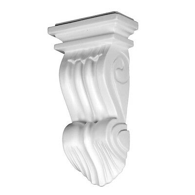 Victorian Wall Fireplace Corbel White Urethane Vintage | Renovator's Supply