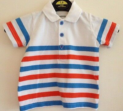 Baby Boys Blue Zoo Short Sleeved T-Shirt Age 6-9 Months