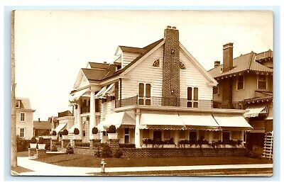 Mother Shoemaker's House Ocean City Maryland New Jersey RPPC AZO Postcard D1