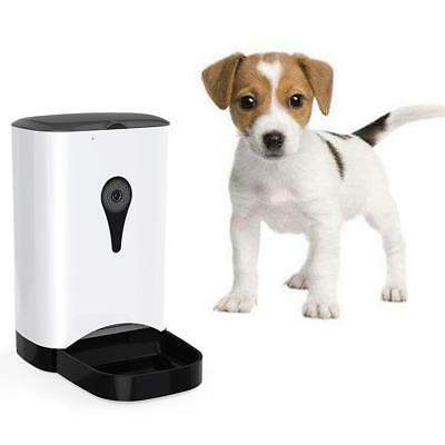 Automatic Pet Feeder APP Remote Control WiFi Intelligent Cats Dogs Camera Feeder