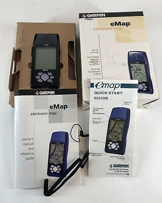 GARMIN GPS MAP 78 Portable Handheld Navigation Unit Tested