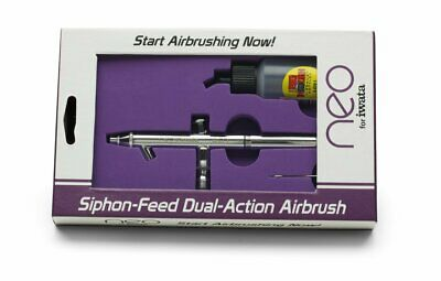 Iwata Neo BCN Suction Siphon Feed Dual Action Air Brush 0.5mm 28mL