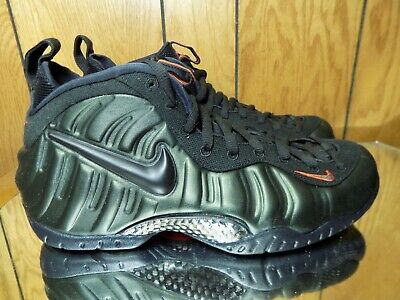 e76c212bba3 Nike Air Foamposite Pro Sequoia Black Team Orange 624041-304 Men s Size 10.5