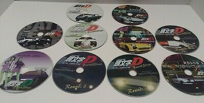 Initial D Stage 2 and 4, T.V series, Battle Stage, Extra Stage, Movie 13 DVD set