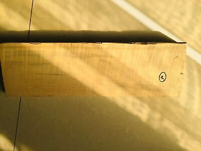 back Flame Maple Wood for violin, 4/4 size #2