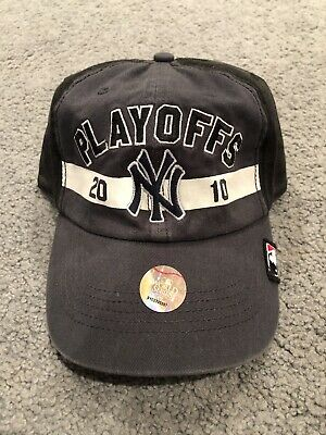 71a3597d734cf NEW YORK YANKEES 47 Brand Authentic 2010 Playoffs Hat Brand New ...