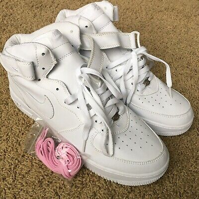 VTG NIKE AIR Force 1 One Mid 03 White 2006 Release Men Size