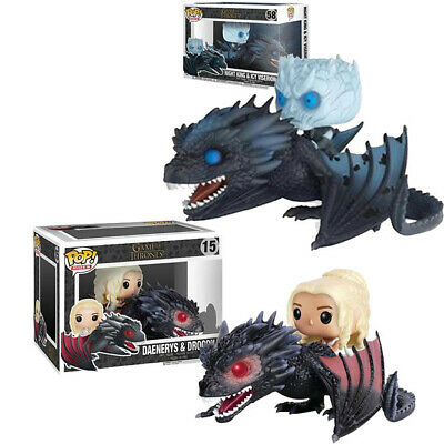 Funko Pop! Game of Thrones-Night King Viserion Rides Dragon Collectible Figure
