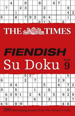 The Times Fiendish Su Doku Book 9 ' The Times Mind Games