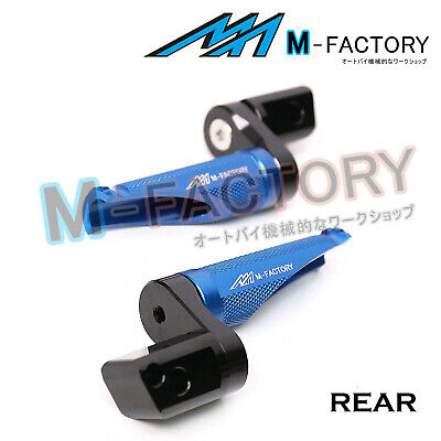 Fit Ducati 748 /S/R All Year Racing 25mm Extended Rear Foot Pegs Blue