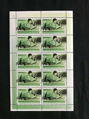 2010 Australian Taxation Office 60c Sheetlet Of 10 Stamps Mint Never Hinged