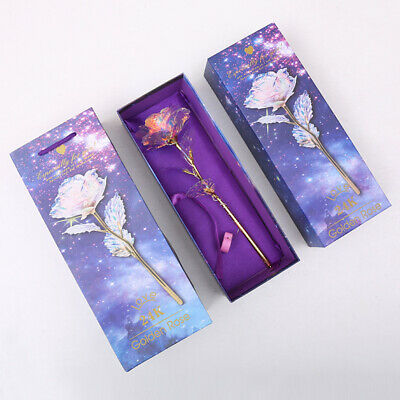 Official Galaxy Rose Flower Valentine/'s Day Lover Gift Gift Romantic U5B5