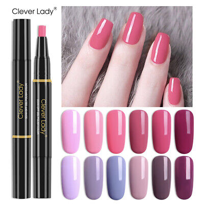 3 in 1 Gel Nail Polish One Step Gel Polish Pen No Need Base or Top UV Colour