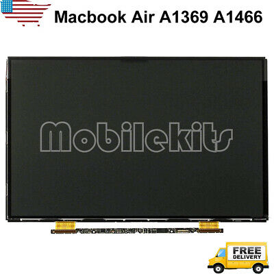 "13.3"" New For Apple Macbook Air A1369 A1466 LCD Display Screen Panel Replacement"