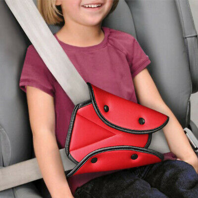Car Seat Belt Triangle Safety Holder Protect Child Baby Kids Seat Cover Adjuster